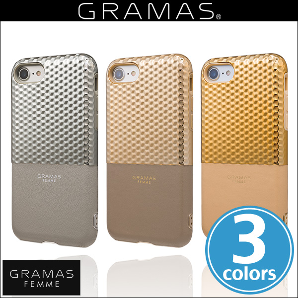 "GRAMAS FEMME ""Hex"" Hybrid Case FLC2007 for iPhone 8 / iPhone 7"