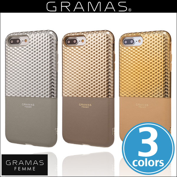 "GRAMAS FEMME ""Hex"" Hybrid Case FLC2017P for iPhone 7 Plus"