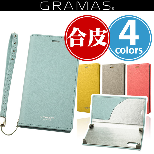 "GRAMAS FEMME ""Colo"" Book PU Leather Case FLC-6035 for iPhone X"