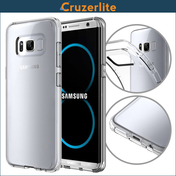 Cruzerlite FLEX Ultra Thin TPU Case for Samsung Galaxy S8