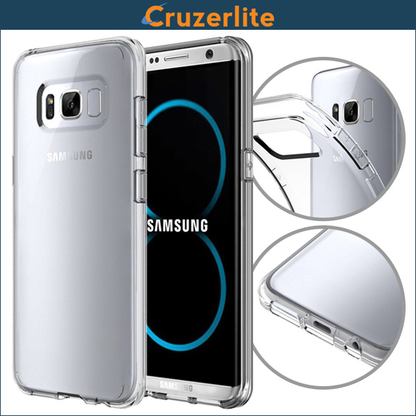 Cruzerlite FLEX Ultra Thin TPU Case for Samsung Galaxy S8 Plus