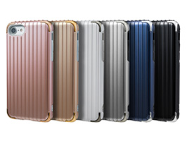 "GRAMAS COLORS ""Rib 2"" Hybrid Case CHC486 for iPhone 8 / iPhone 7"