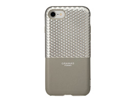 "GRAMAS FEMME ""Hex"" Hybrid Case FLC2007 for iPhone 8 / iPhone 7(シルバー)"