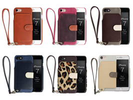 RAKUNI Leather Case for iPhone 7