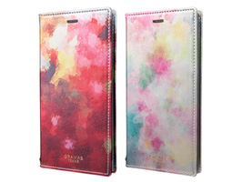"GRAMAS FEMME ""Gra"" Book PU Leather Case FLC-60367 for iPhone X"