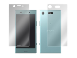 OverLay Eye Protector for Xperia XZ1 Compact SO-02K 『表面・背面(Brilliant)セット』