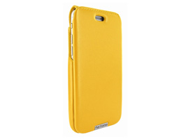 Piel Frama UltraSliMagnum レザーケース for iPhone 8 / iPhone 7(Yellow)
