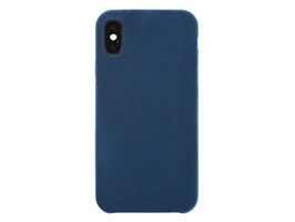 Ultrasuede Air jacket for iPhone X(ブルー)