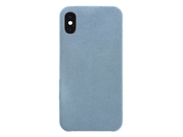 Ultrasuede Air jacket for iPhone X(スカイ)