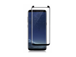 VMAX Curved Tempered Glass (貼付けツール付き) for Galaxy S8 SC-02J / SCV36(ブラック)