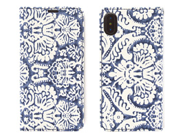 Zenus Denim Paisley Diary for iPhone X