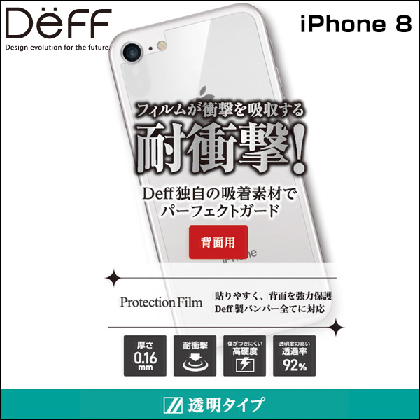 Protection Film 背面用 for iPhone 8(背面用)