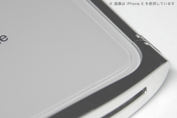 TOUGH GLASS 背面用 for iPhone 8 Plus(透明)