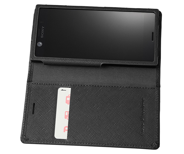 EURO Passione Book PU Leather Case for Xperia XZ1 Compact SO-02K