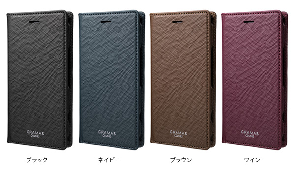 カラー EURO Passione Book PU Leather Case for Xperia XZ1 Compact SO-02K