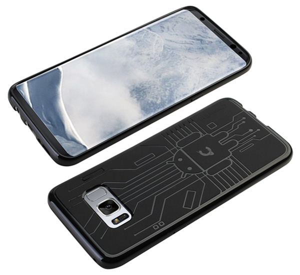 Cruzerlite Bugdroid Circuit Case for Samsung Galaxy S8