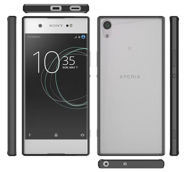 Cruzerlite Defense Fusion Fender Case for Xperia XA1 Ultra