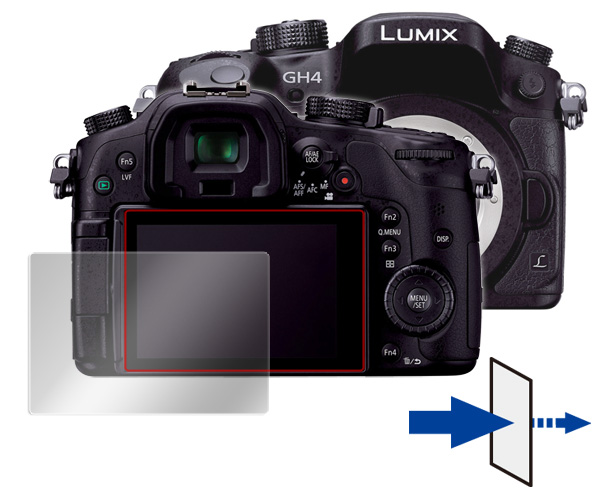OverLay Eye Protector for LUMIX DMC-GH4/GH3/GX8