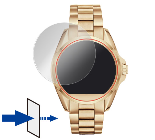 OverLay Eye Protector for MICHAEL KORS ACCESS BRADSHAW SMARTWATCH