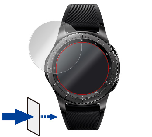 OverLay Eye Protector for Galaxy Gear S3 frontier / classic