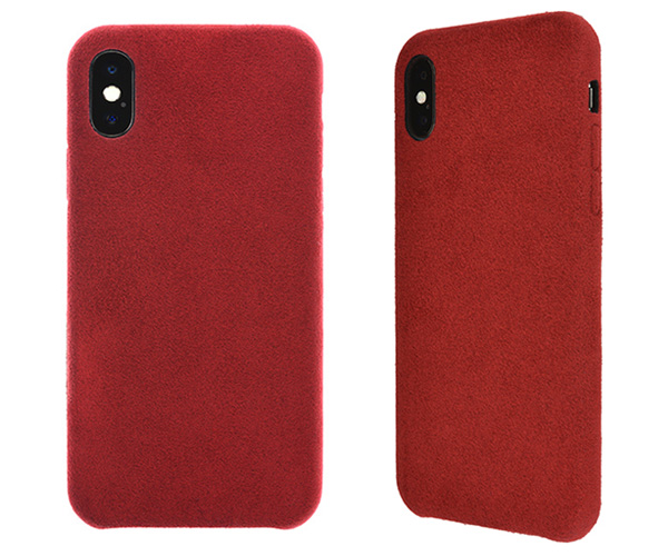 Ultrasuede Air jacket for iPhone X