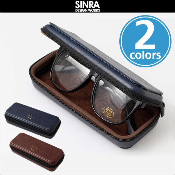 SINRA DESIGN WORKS GlassesCase 「GLASSES」