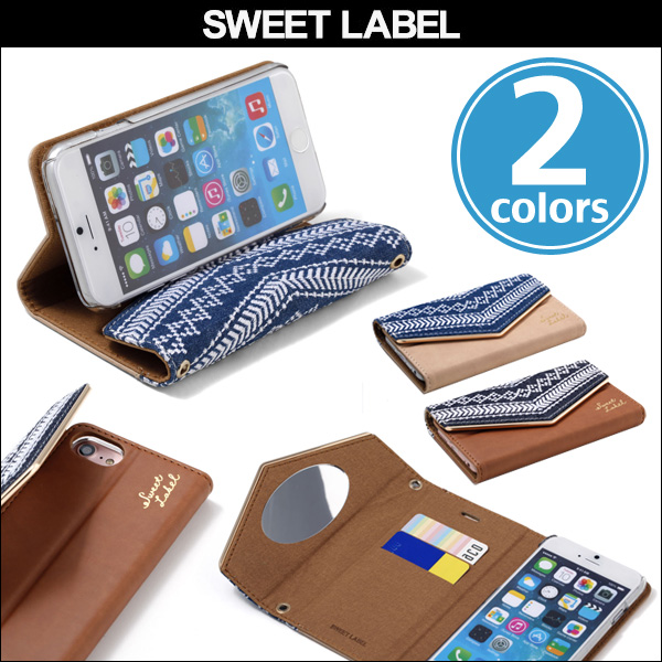 SWEET LABEL Folklore Denim Case for iPhone 7 / 6s /6