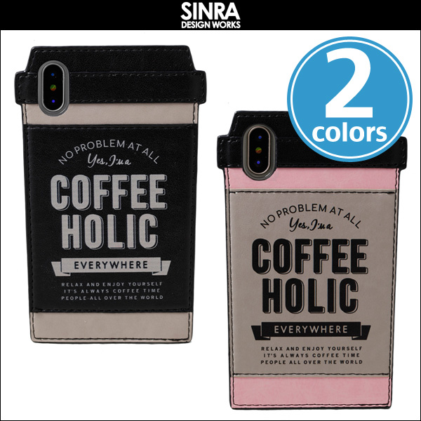 SINRA DESIGN WORKS Cafe Tumbler Case for iPhone X