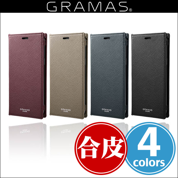 "GRAMAS COLORS ""EURO Passione"" Book PU Leather Case CLC-61128 for Galaxy S9 SC-02K / SCV38"