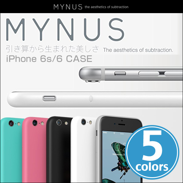 MYNUS ケース for iPhone 6s / 6