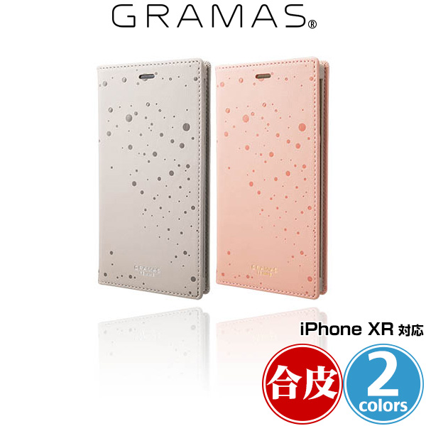 "GRAMAS FEMME ""Twinkle"" PU Leather Book Case FLC-62528 for iPhone XR"