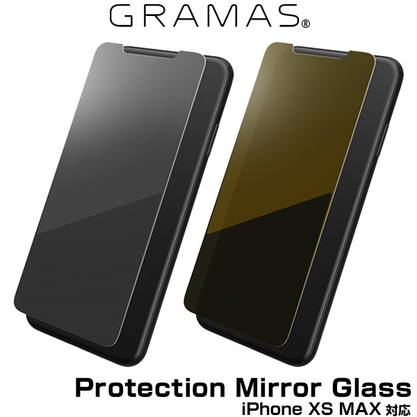 GRAMAS FEMME Protection Mirror Glass FGL-32438 for iPhone XS MAX