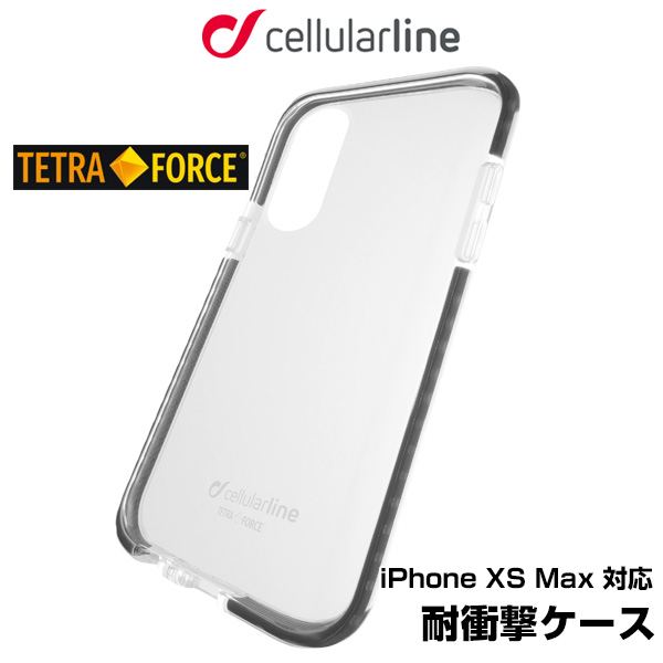 cellularline TETRA case 耐衝撃 ケース for iPhone XS Max