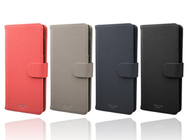 "GRAMAS ""EveryCa2"" Multi PU Leather Case CLC-62718 for Smartphone L Size"