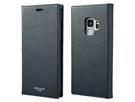 "GRAMAS COLORS ""EURO Passione"" Book PU Leather Case CLC-61128 for Galaxy S9 SC-02K / SCV38(ネイビー)"