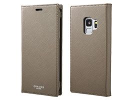 "GRAMAS COLORS ""EURO Passione"" Book PU Leather Case CLC-61128 for Galaxy S9 SC-02K / SCV38(トープ)"