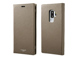 "GRAMAS COLORS ""EURO Passione"" Book PU Leather Case CLC-61228 for Galaxy S9+ SC-03K / SCV39(トープ)"