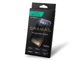 GRAMAS Protection Glass 0.33mm AGC for iPhone X
