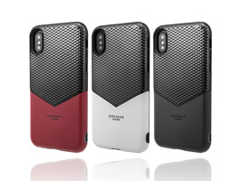 "GRAMAS COLORS ""Edge"" Hybrid Shell Case CHC-52318 for iPhone XS"