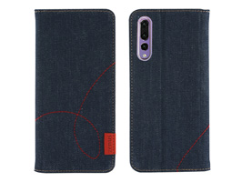 Zenus Denim Stitch Diary for HUAWEI P20 Pro HW-01K