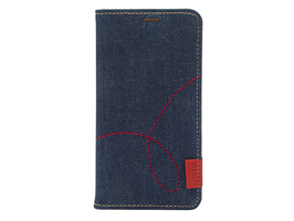 Zenus Denim Stitch Diary for iPhone XR