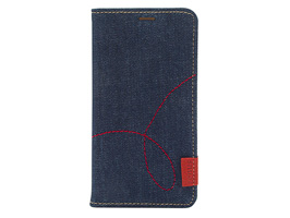 Zenus Denim Stitch Diary for iPhone XS Max
