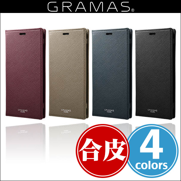 "GRAMAS COLORS ""EURO Passione"" Book PU Leather Case for Galaxy S9+ SC-03K / SCV39"