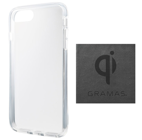 GRAMAS COLORS Glass Hybrid Case for iPhone 8 Plus(クリア)