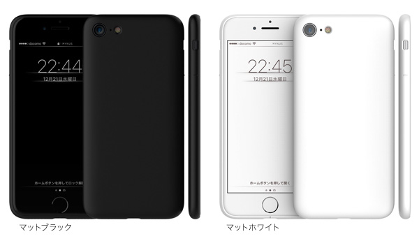 カラー MYNUS ケース for iPhone 8 / 7