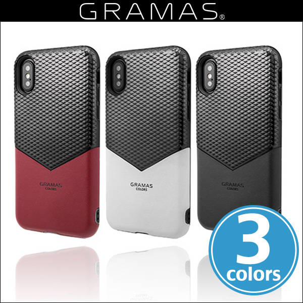 "GRAMAS COLORS ""Edge"" Hybrid Case CHC-50347 for iPhone X"