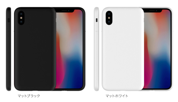 カラー MYNUS ケース for iPhone X
