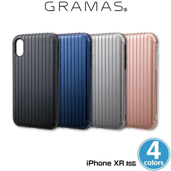 GRAMAS COLORS Rib Hybrid Shell case for iPhone XR