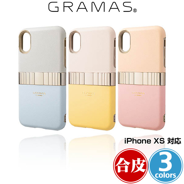 GRAMAS FEMME Rel Hybrid Shell Case for iPhone XS