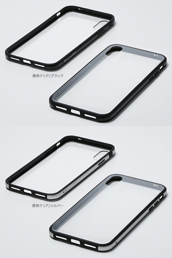 カラー Hybrid Case Etanze for iPhone XS